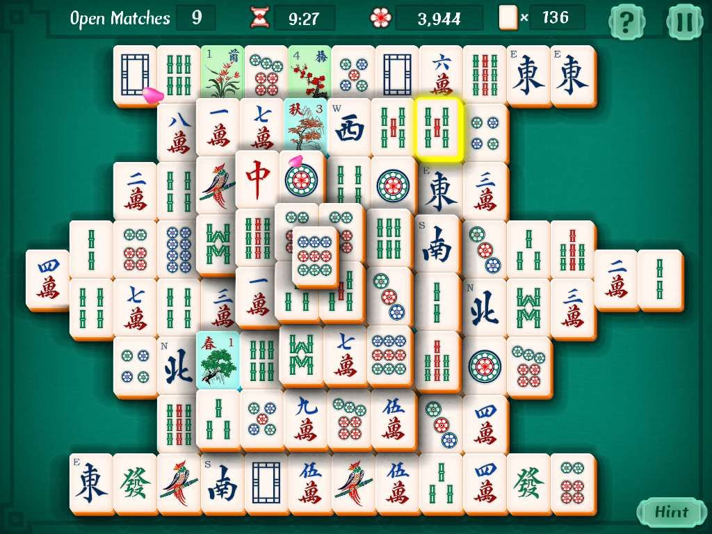 Mahjongg Solitaire Free Online Game Playing Solitaire Fun