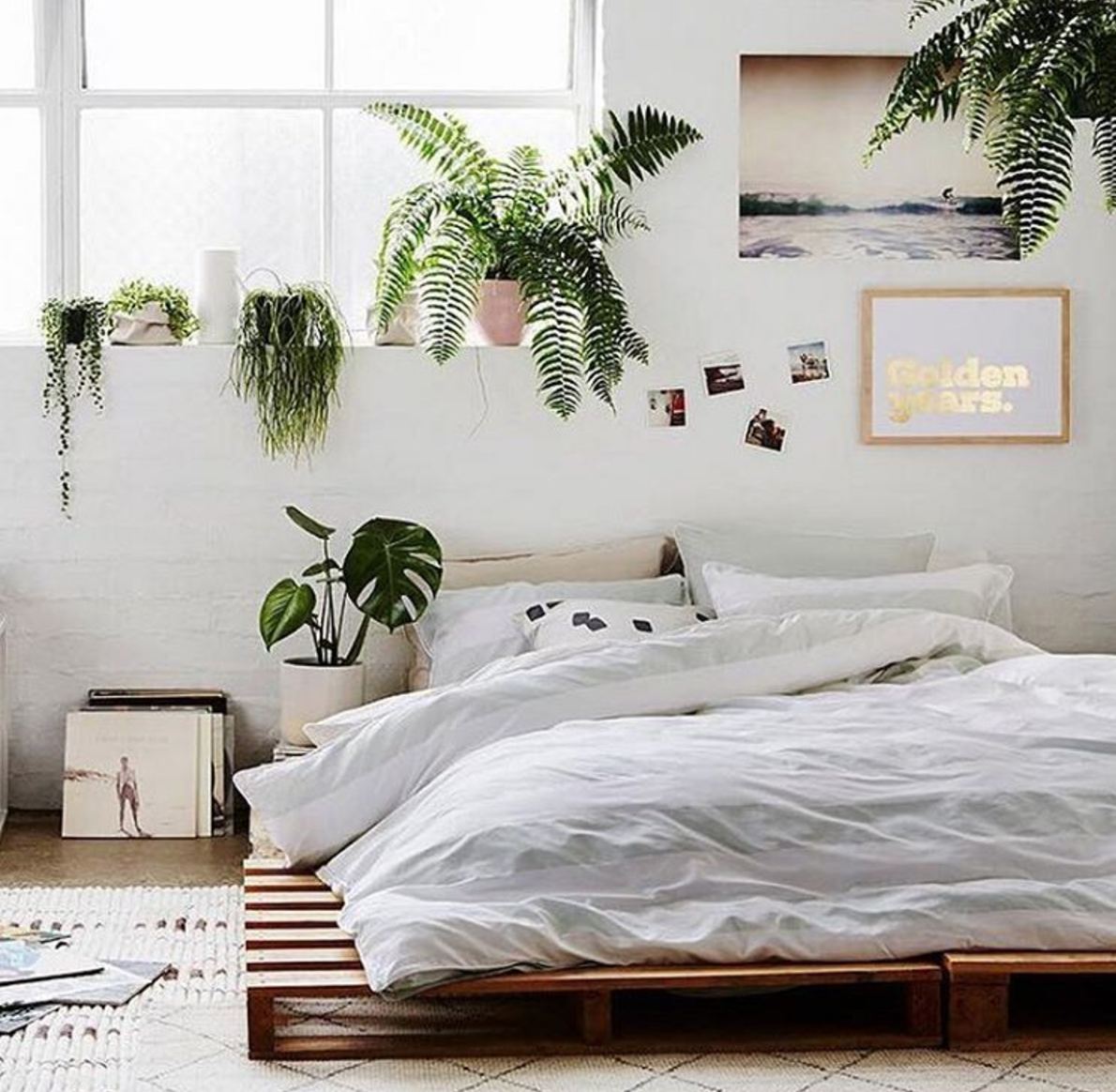 Bohemian Style Bedrooms, White Bedroom