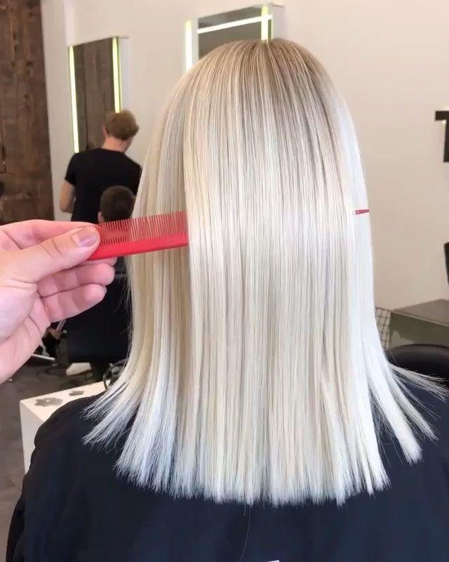 60 atemberaubende Inspirationen für platinblonde Haare für 2019 - Samantha Fashion Life #blondehair