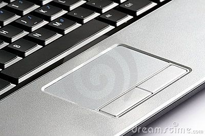 A Touchpad Is A Small Flat Rectangular Pointing Device Near The Keyboard That Allows You To Move The Pointer By Slid Laptop Computers Touchpad Input Devices