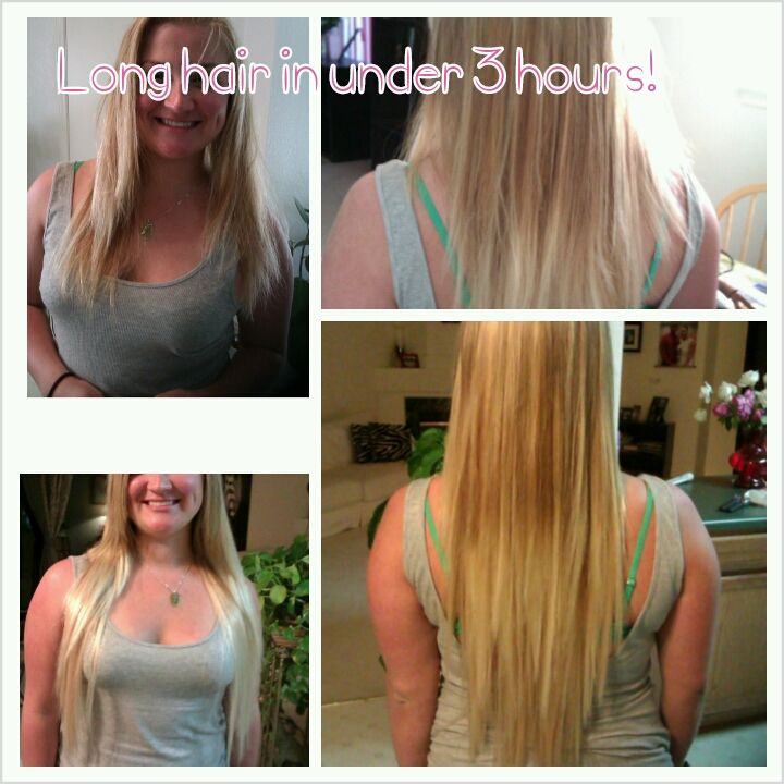 Add Some Length For The Summer Extensions Satin Strands Malibu