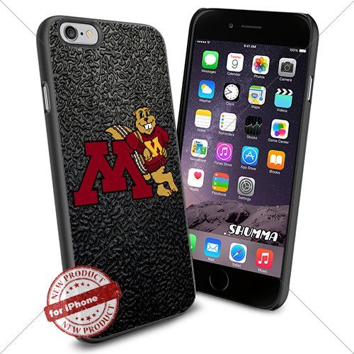"""NCAA-Minnesota Golden Gophers,iPhone 6 4.7"""" Case Cover Protector for iPhone 6 TPU Rubber Case Black SHUMMA http://www.amazon.com/dp/B012X9DWXM/ref=cm_sw_r_pi_dp_AW42vb1V73K58"""