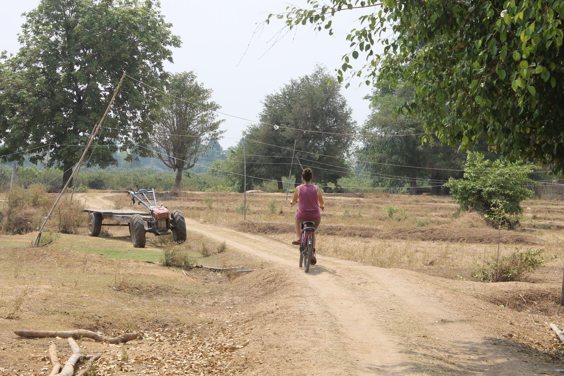 Adiós Laos! Paseo en bici por Don Det