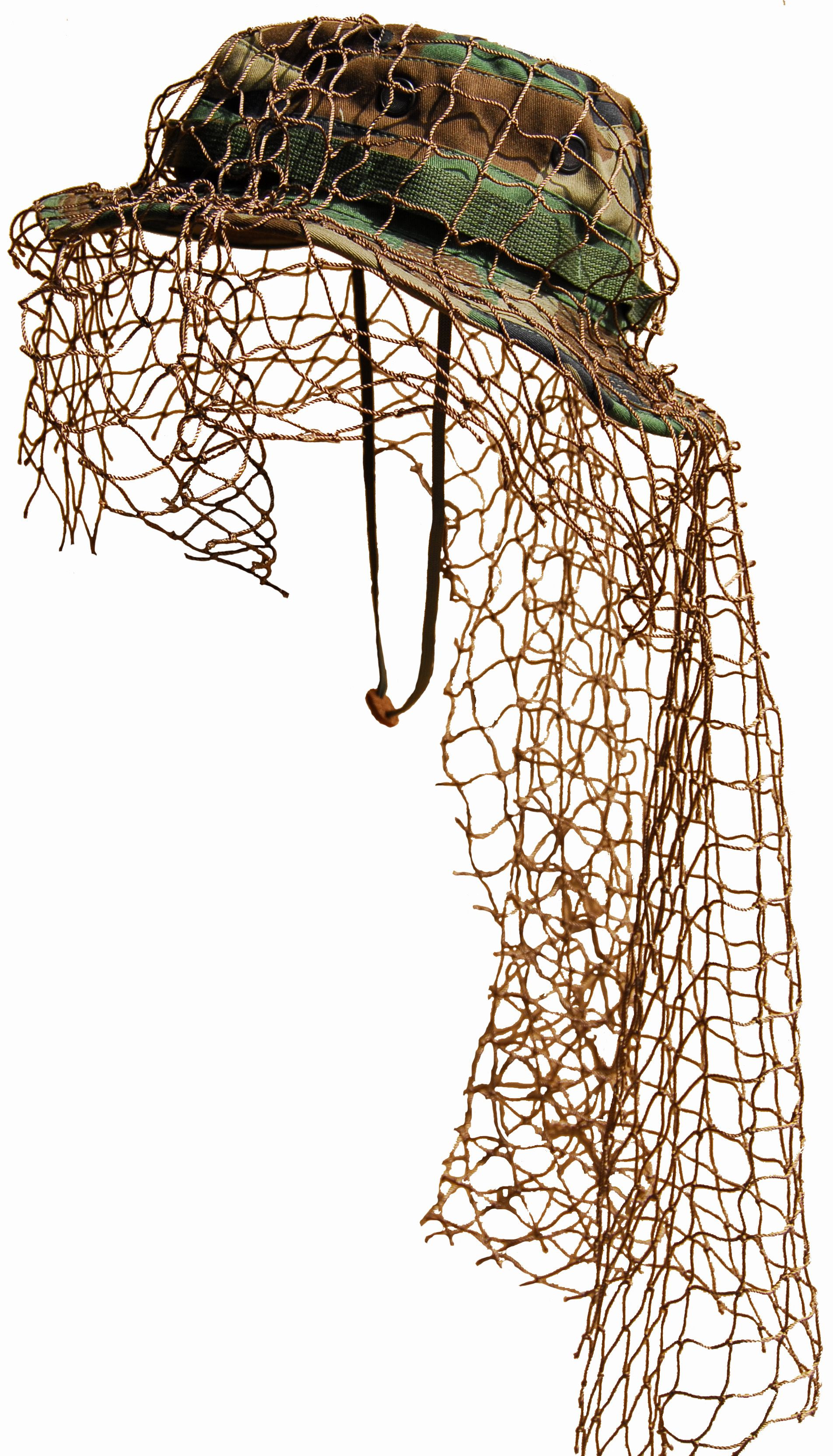 71346efb54a8e Build Your Own Sniper Ghillie Boonie Hat - Add your own thread and  vegetation