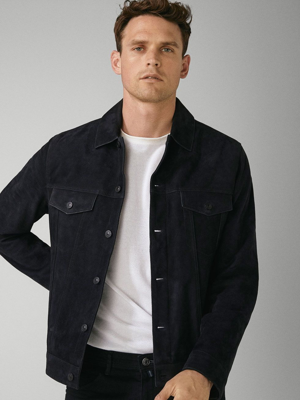 Men's Leather Jackets Massimo Dutti Spring Summer