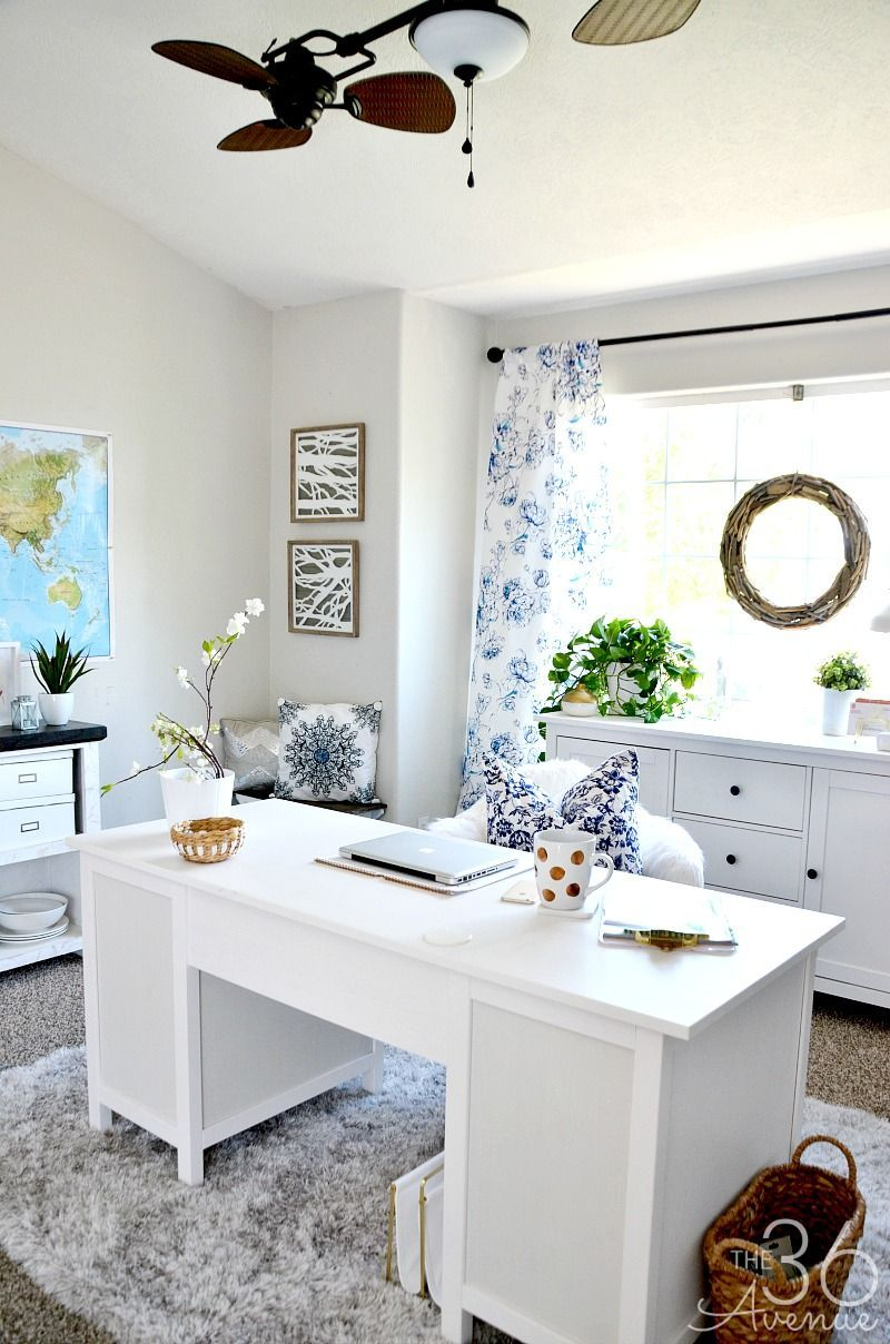 Home Office Decor Reveal - Part One   Dining, Room and Office designs