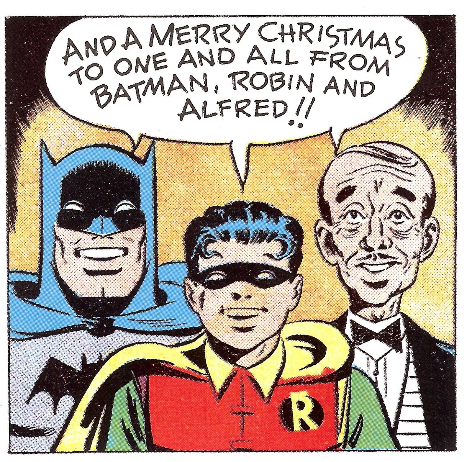 Merry Christmas Batman Robin & Alfred | superheros | Pinterest ...