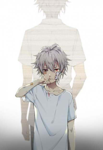 55 Ideas Hair White Boy Anime Red Eyes Anime Child Dark Anime Anime Drawings
