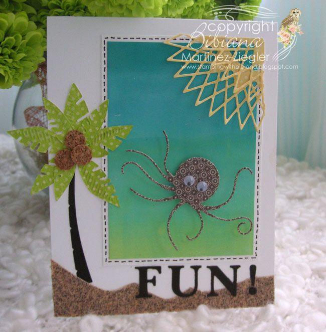 a little summer octopus | par Bibianas Cards-r-recherche google