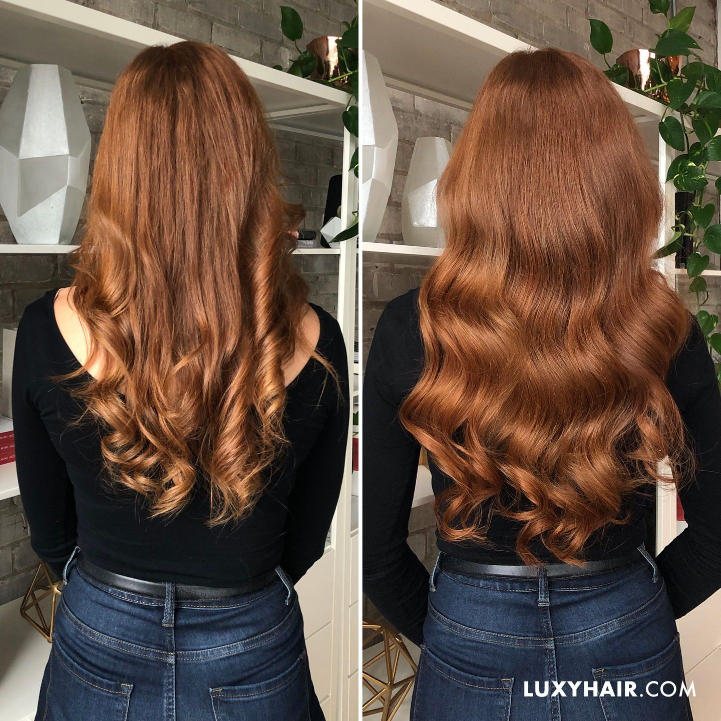 20 Classic Natural Red Clip Ins 20 160g With Images Natural Red Hair Red Hair Color