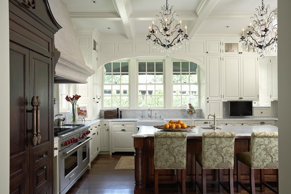 Commercial kitchen ceiling kitchen traditional with ...