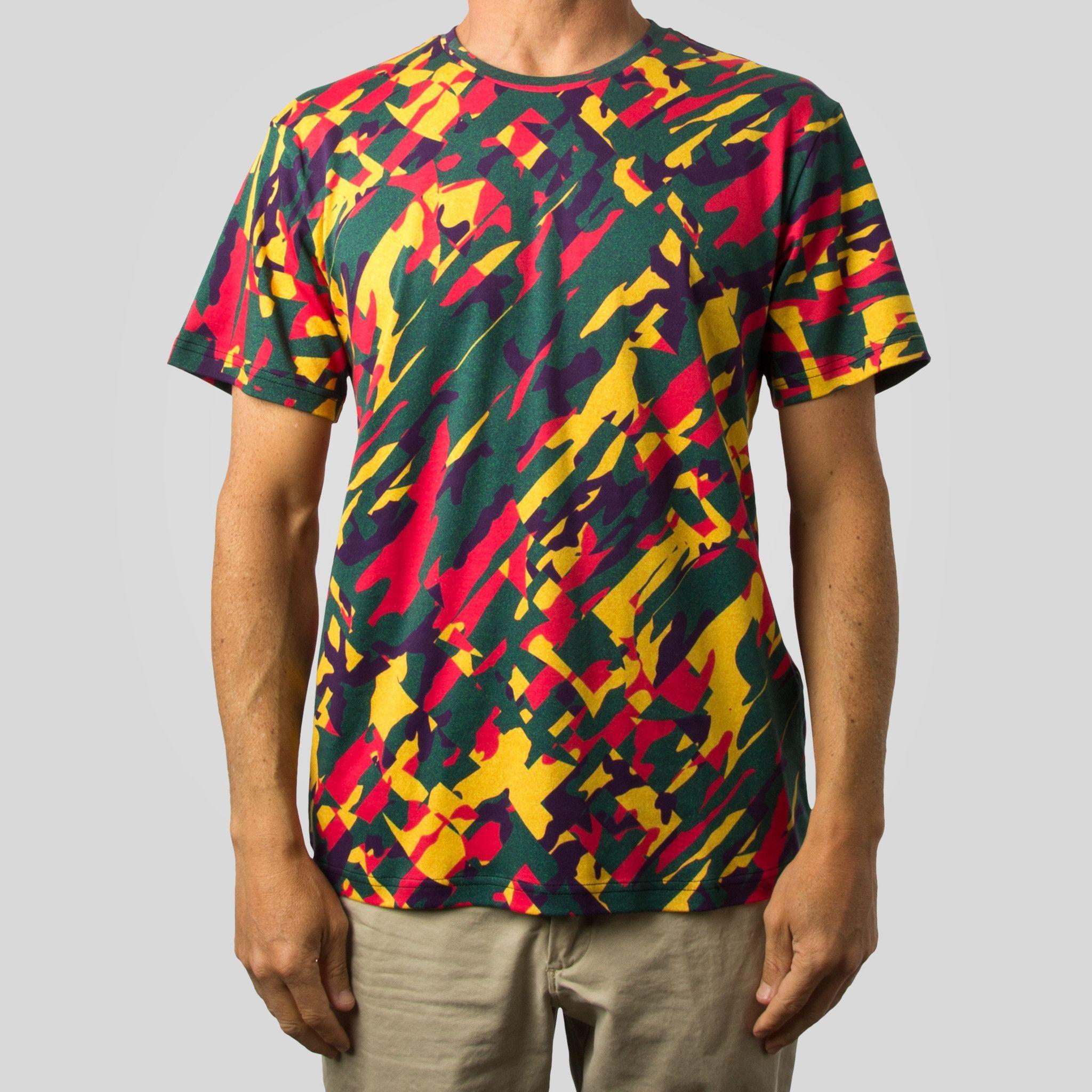 Psychic Army Premium T-Shirt - Tropical
