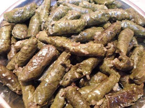 طريقة عمل محشى ورق العنب بخلطة المحشى السرية Cooking Recipes Egyptian Food Food