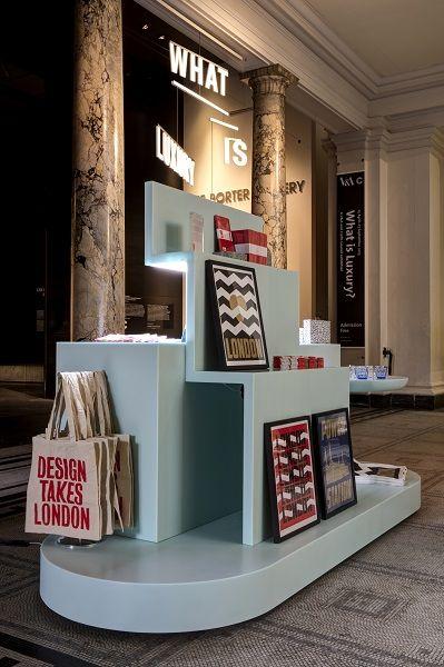 V a pop up store for london design festival retail for Pop window design