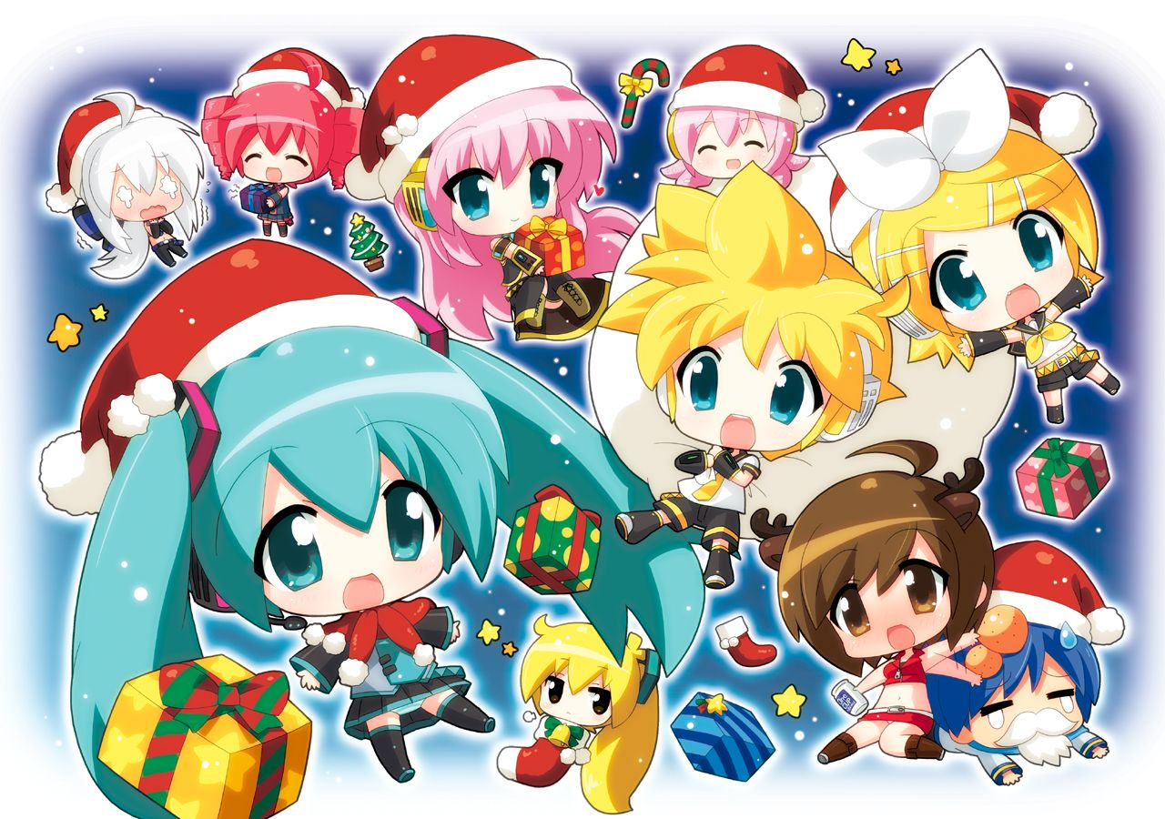 Vocaloid Anime Chibi 151276 aqua_eyes