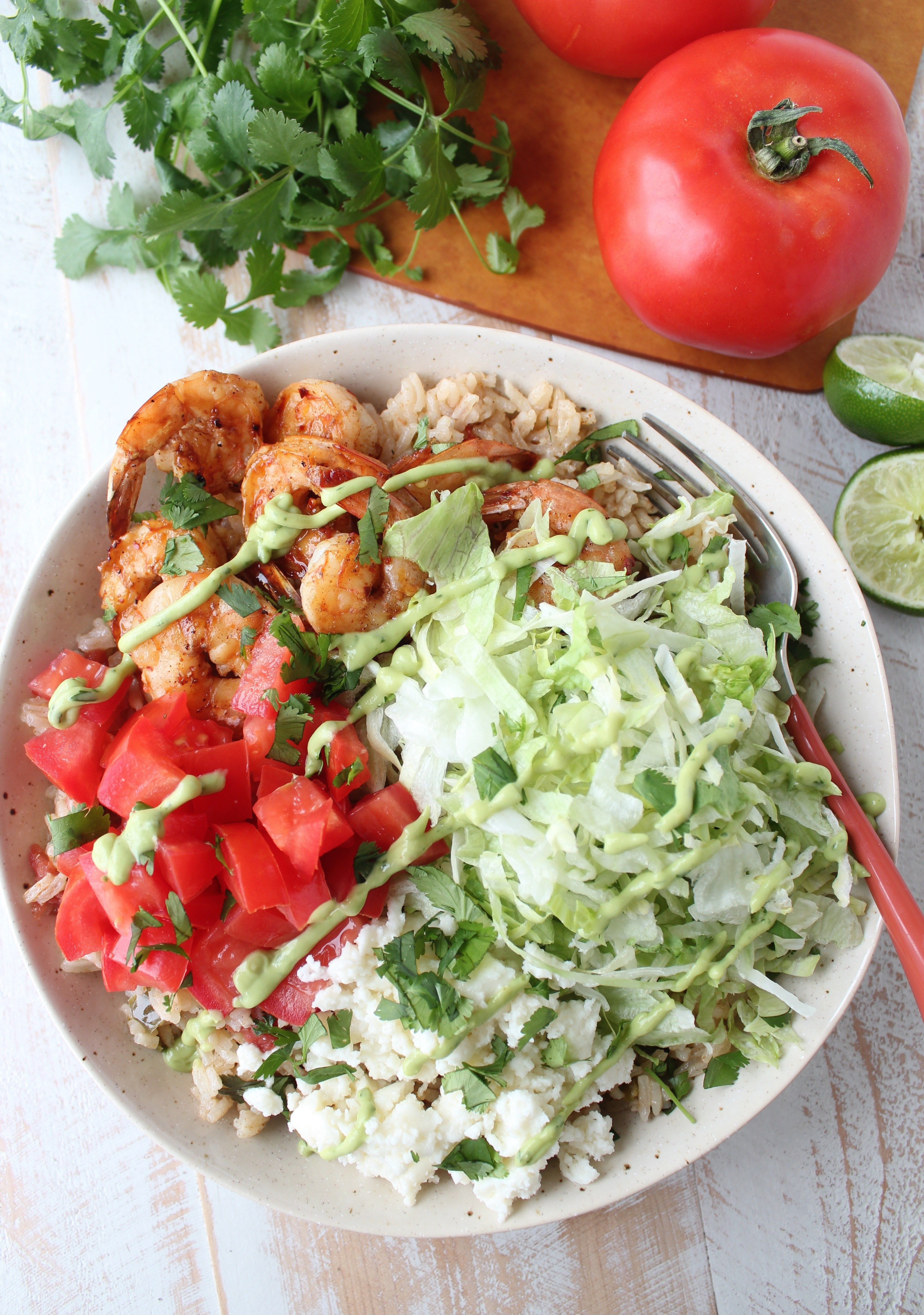 Mexican Rice Chili Lime Shrimp Kick Up The Flavor In This