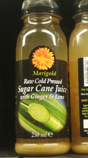 Cold pressed sugar cane juice - Whole Foods, London Food Tour of - fresh blueprint cleanse hpp