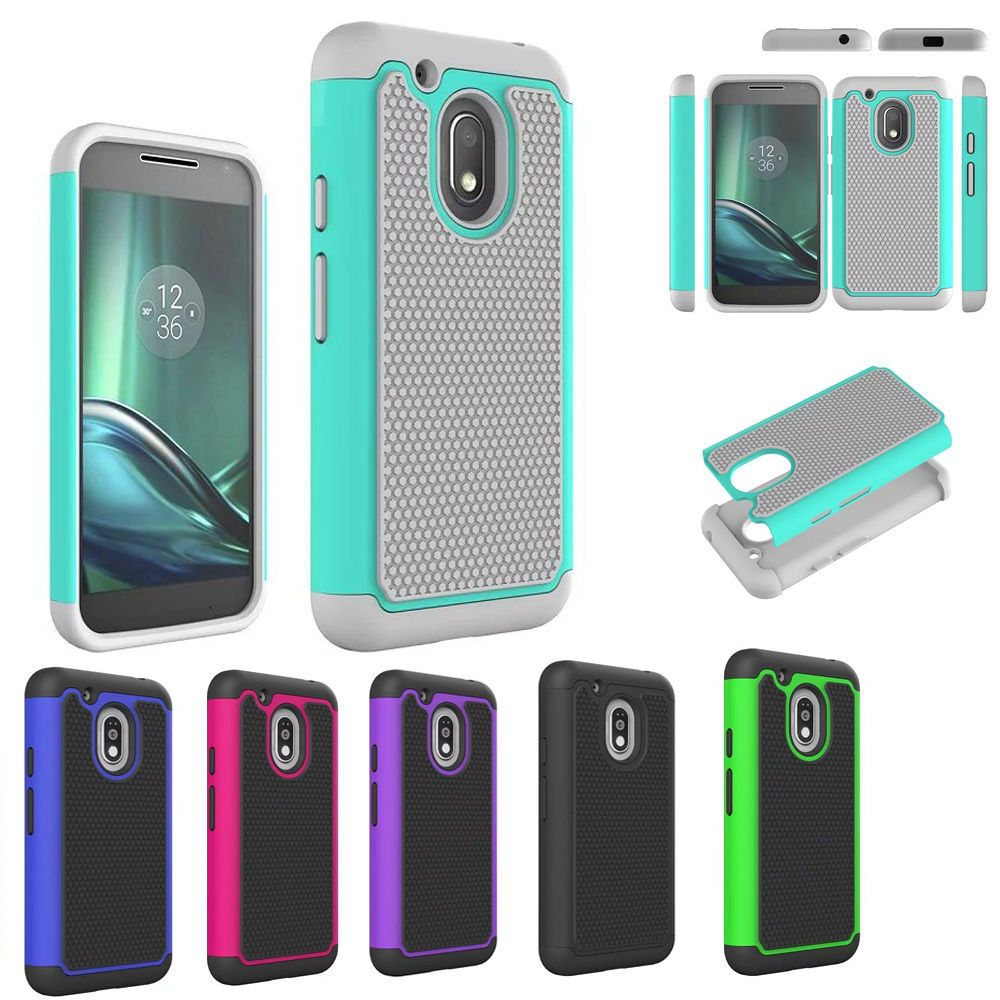 meet fc5ac a380d $2.38 - Hybrid Armor Shockproof Rugged Rubber Hard Case Cover For ...