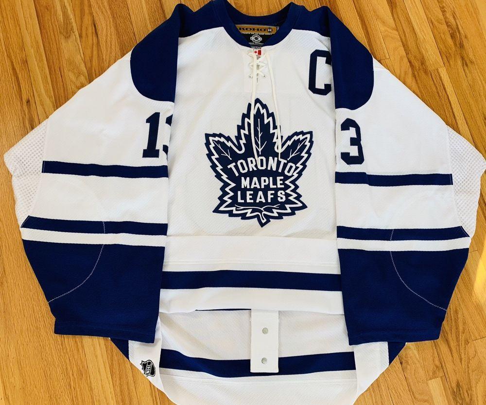 009cb9e8a0d eBay  Sponsored Koho Mats Sundin Toronto Maple Leafs Authentic Hockey  Jersey sz 52