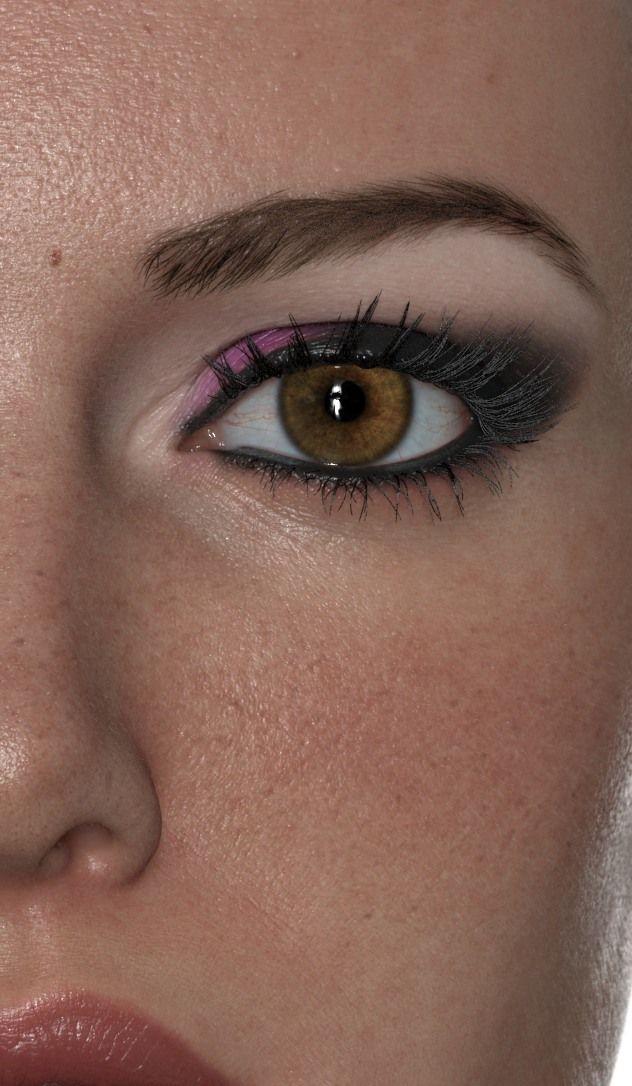 Wonderful Eye Makeup Tutorials You Need To Copy: Wonderful Woman Realistic 3D Art By Luc Begin
