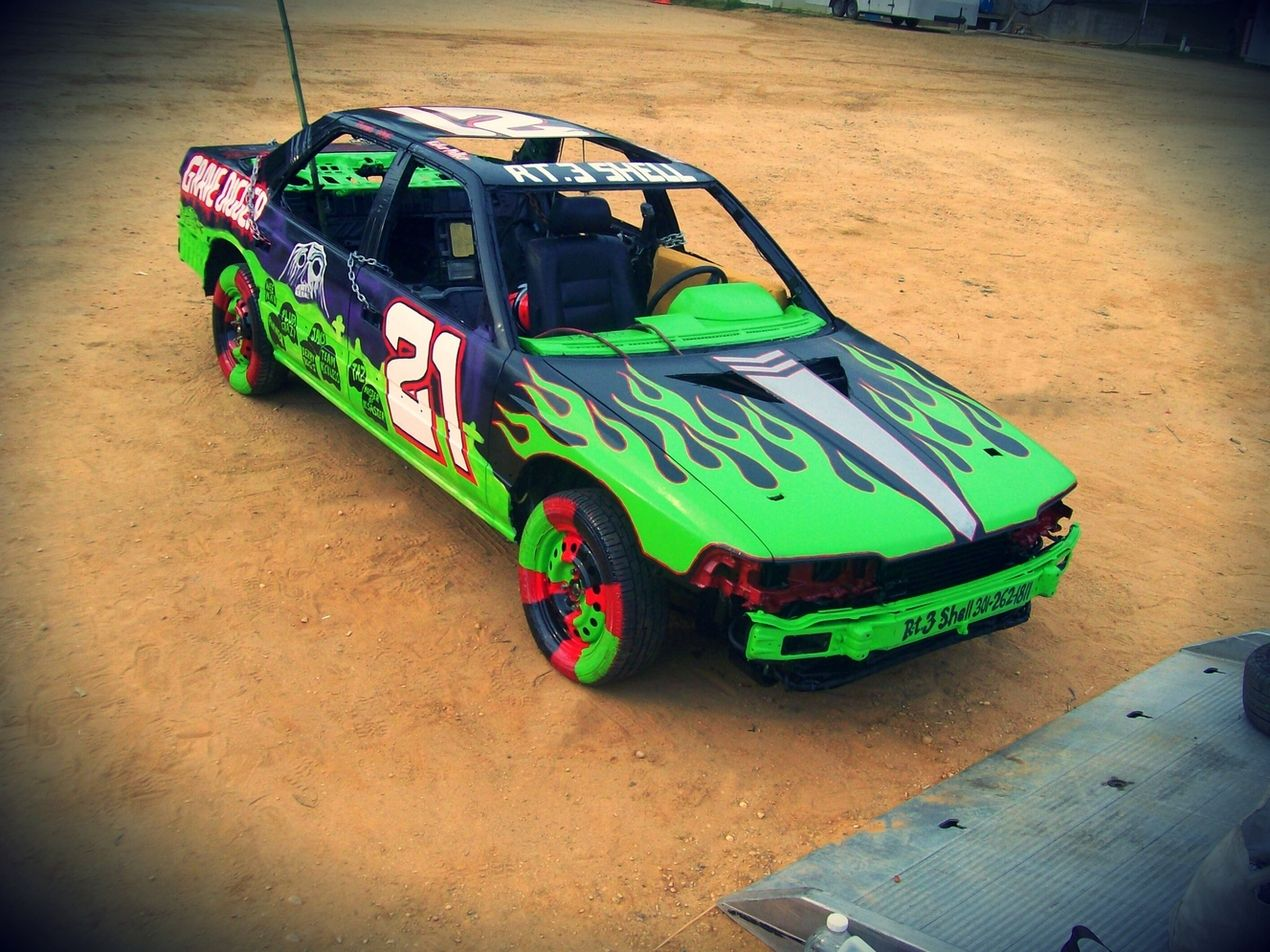 maddies gravedigger idea derby car paint ideas pinterest derby cars demolition derby and derby - Car Paint Design Ideas