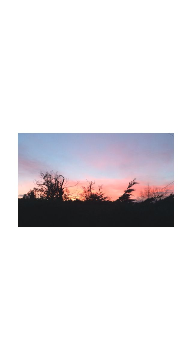 Picture of a sunset on top of my balcony at home- gorgeous red, purple and blue sky! Taken on my iPhone 5s.