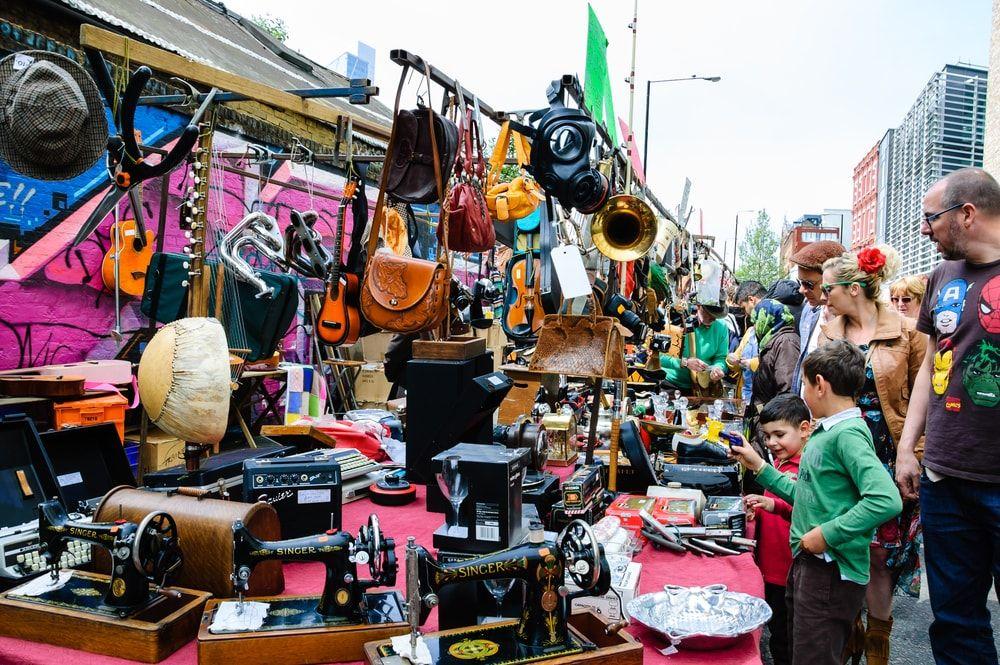 The 10 Best London Markets! Brick Lane Market, London #best #London #markets