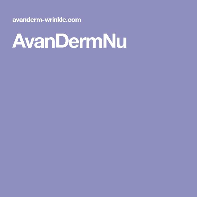 AvanDermNu
