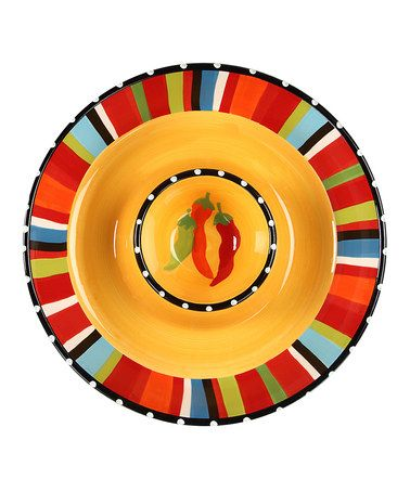 Take A Look At This Sombrero Chip Dip Bowl By Design Imports On