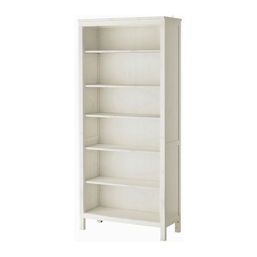 135 Ikea Hemnes Bookcase White Stain Solid Wood Has A Natural