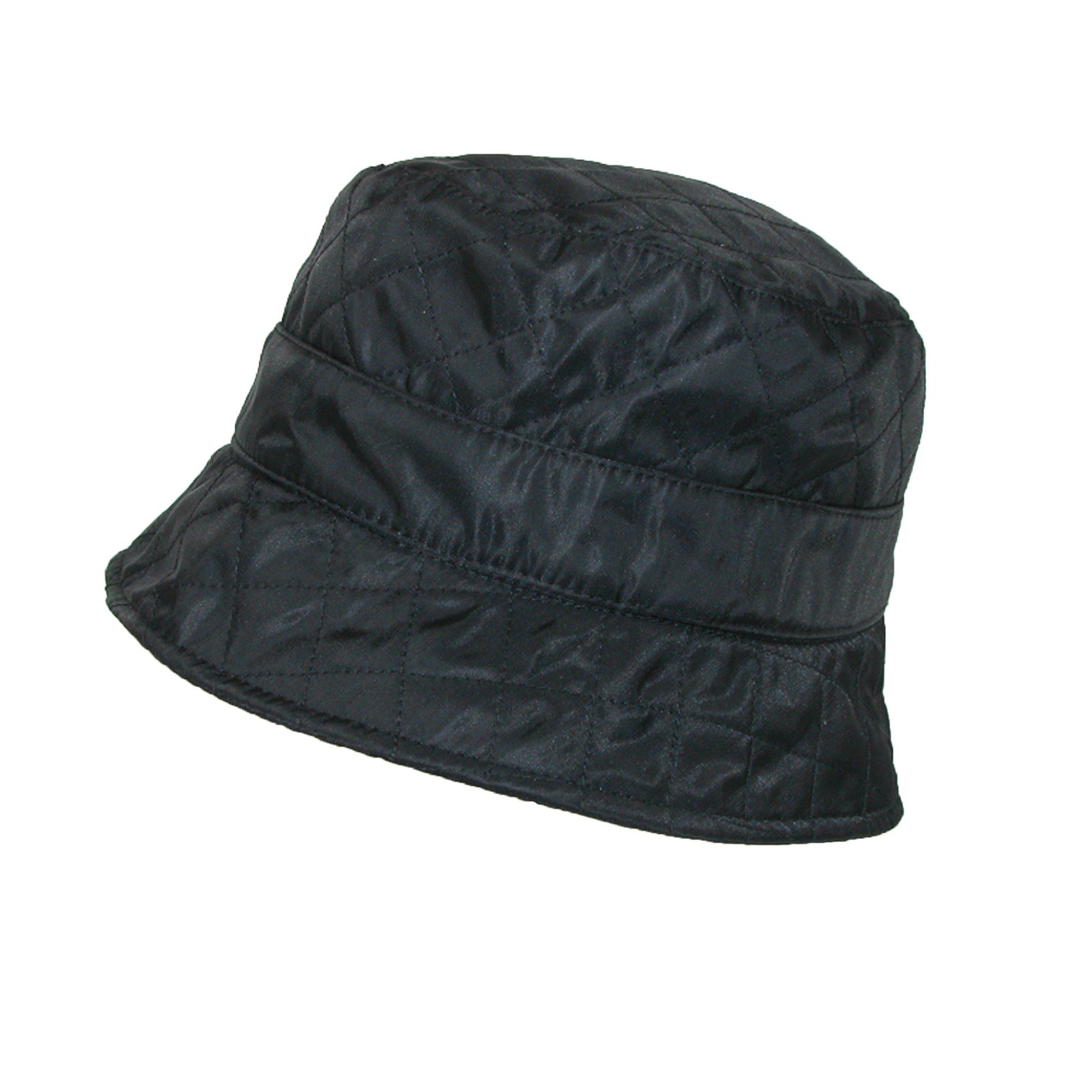 Womens Quilted Bucket Hat Betmar