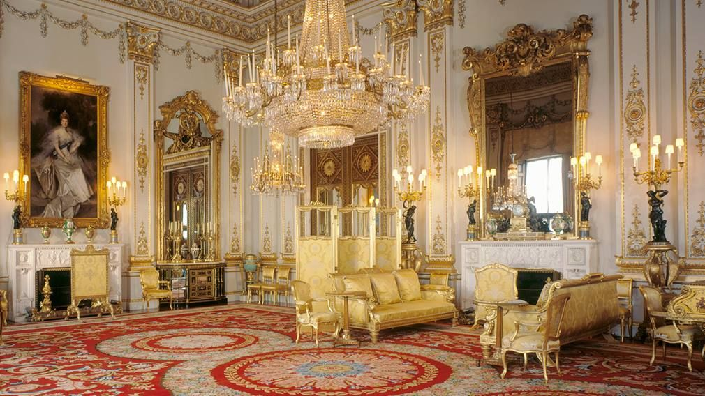Favorite room at Buckingham PalaceThe White Drawing