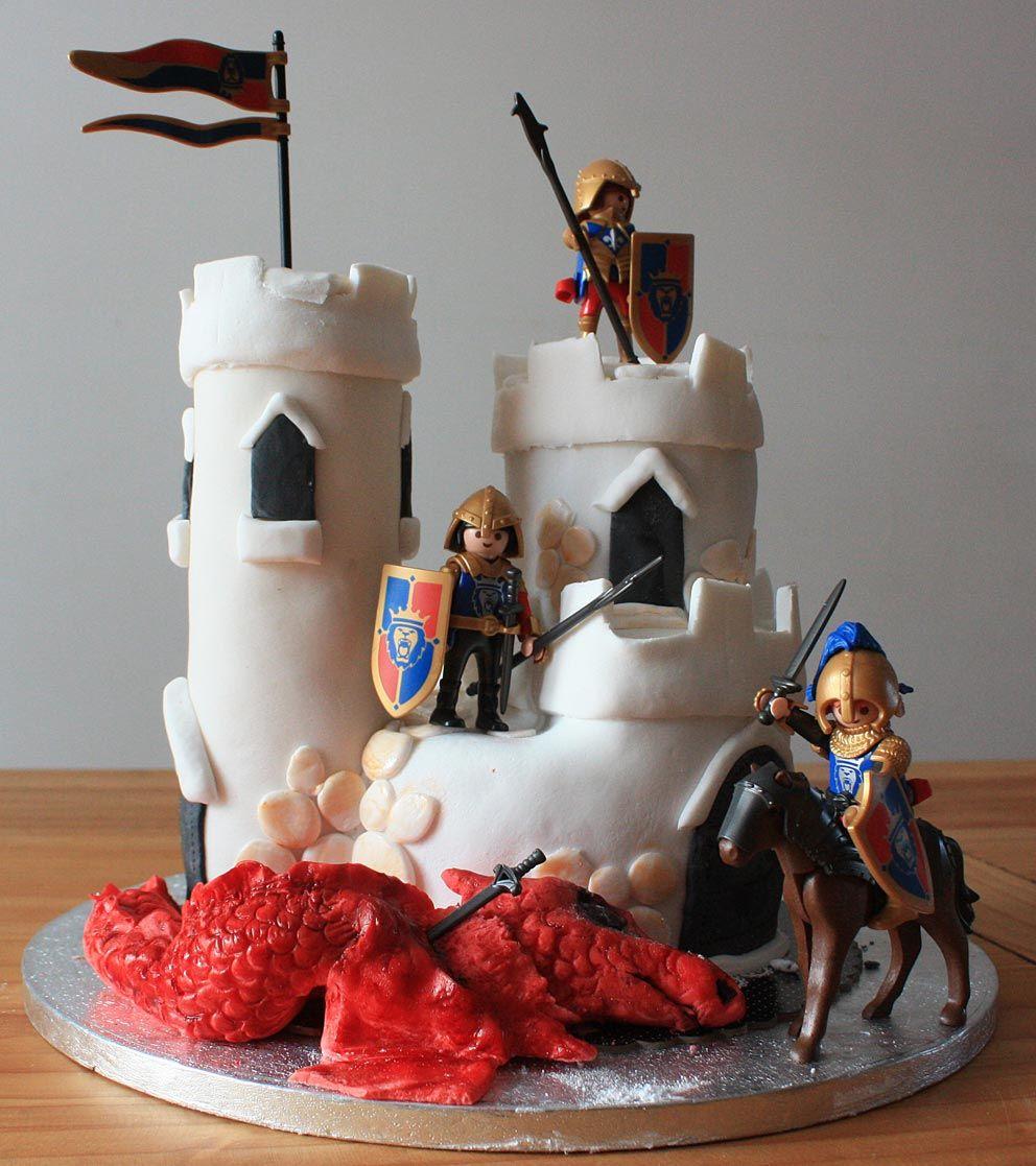 Pinterest gateau chateau