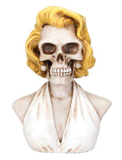 Marilyn Collectible Skeleton Figurine