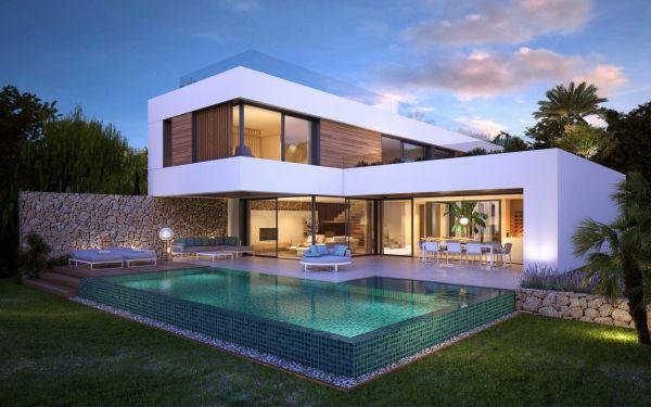 Twelve - Moderne Neubau Villa in Santa Ponsa. Exclusive villas, apartments and estates.