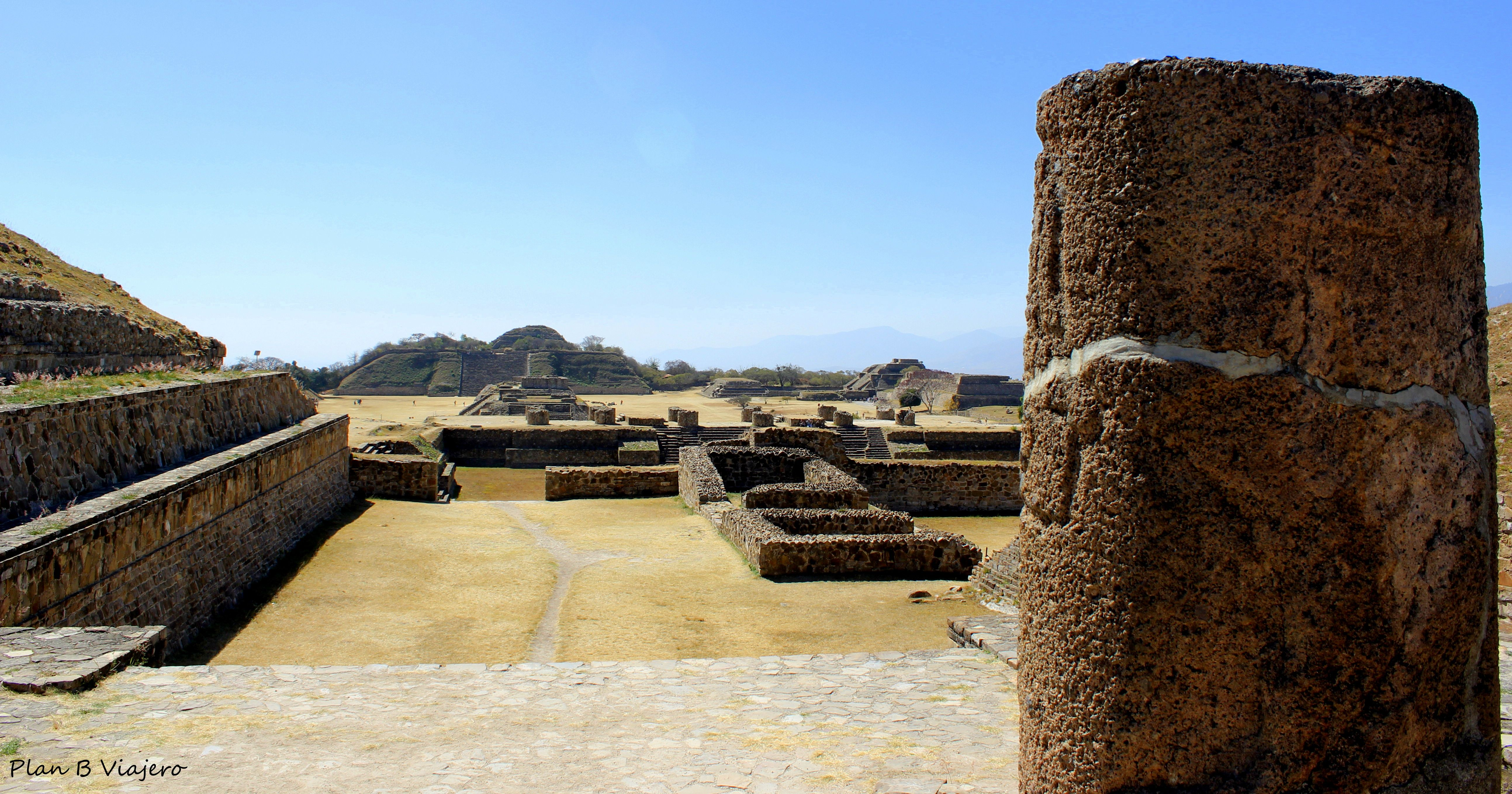 Monte Albán Zapotec culture Cultura Zapoteca Oaxaca México