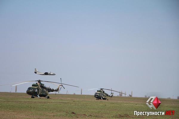 zloy_odessit - Крупномасштабные учения ВДВ ВСУ и колонны оккупантов у границ Украины (фото)