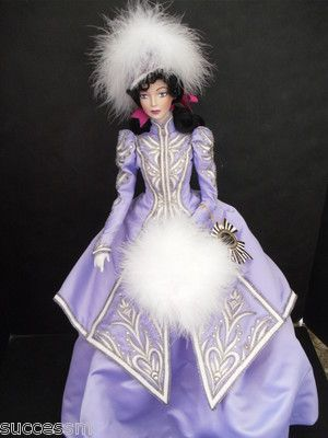"Bob Mackie Legendary Beauties ""WINTER"" Porcelain Doll HARD TO FIND MINT GORGEOUS 