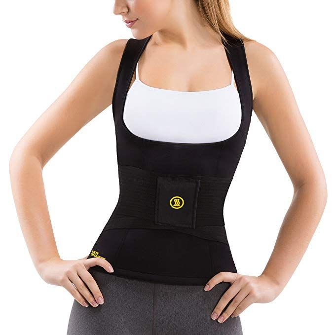 5565b73f101d4 Hot Shapers Women's Cami Hot with Waist Trainer Belt Slimming Activewear  Compression Vest for Thermal Calorie Burn Review