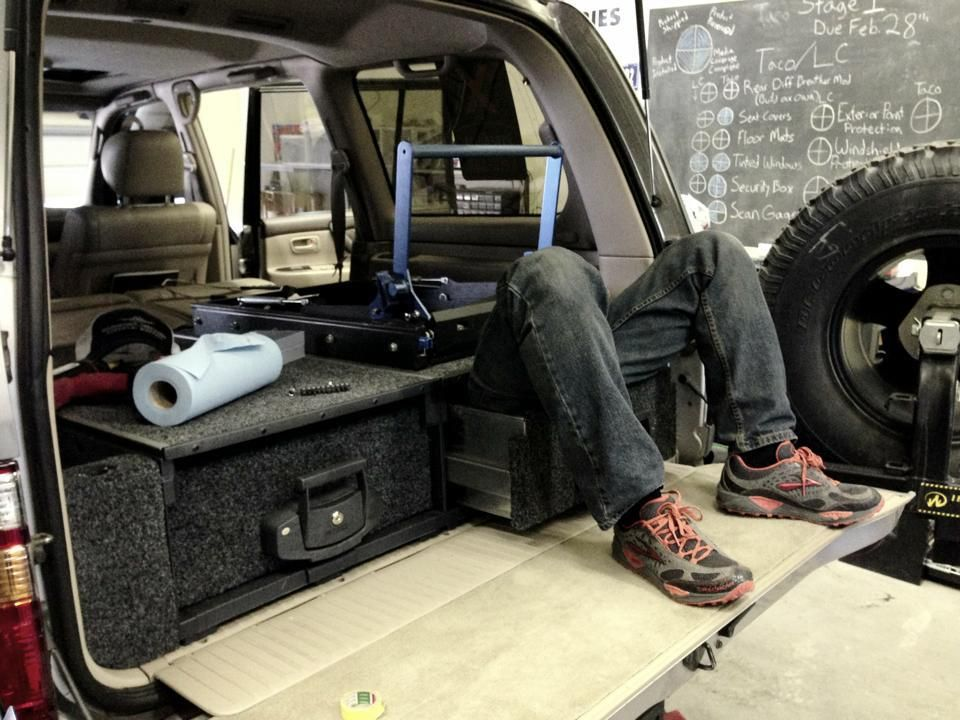 Expedition Overland Arb Drawers Installation Tac