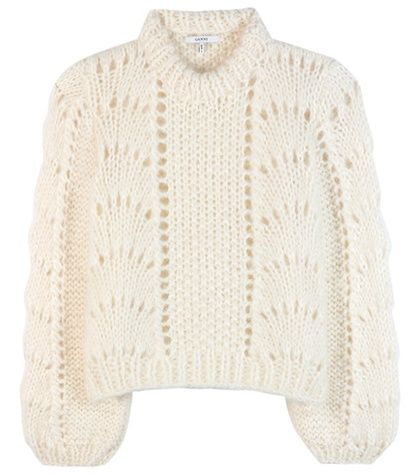 Ganni The Julliard Mohair And Wool Sweater For Spring-Summer 2017