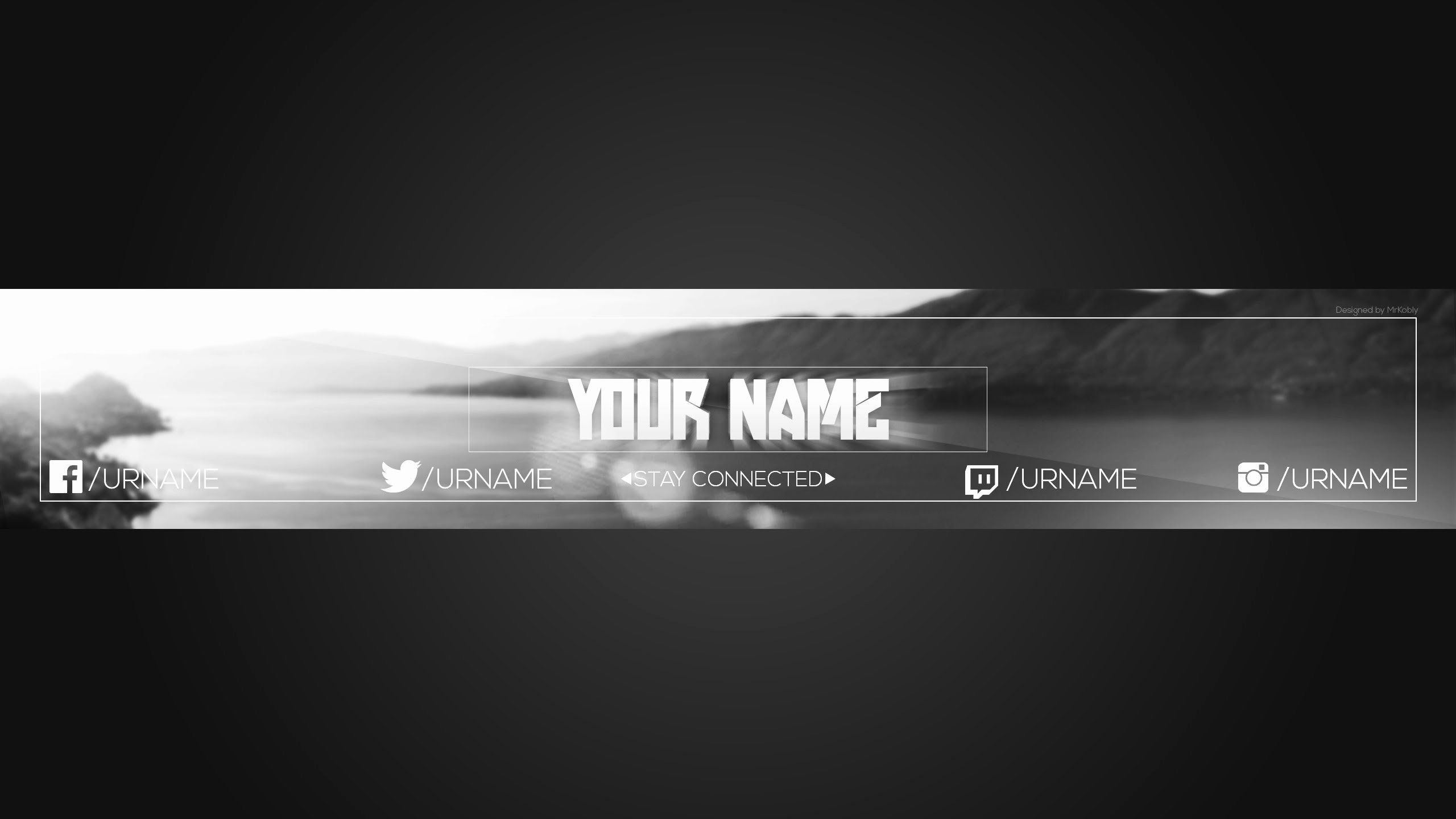 Youtube Banner Template Photoshop Unique 28 Of Tumbler