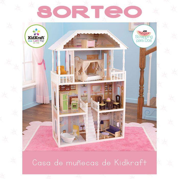 Casas de Muñecas de Kidkraft   Casa muñecas, Sorteo y Muñecas