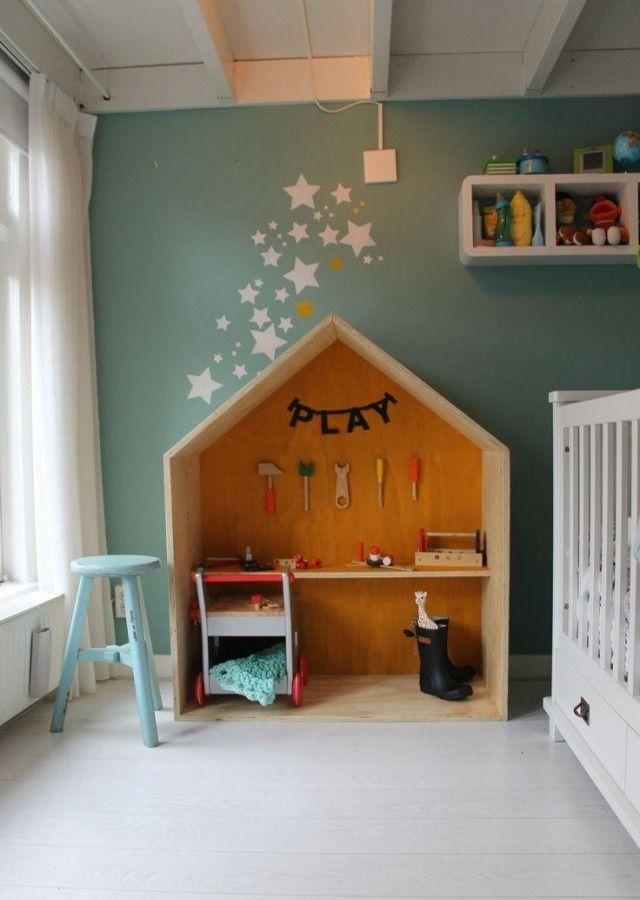 Kinderzimmerwände Gestalten kinderzimmerwände gestalten ideen sternchen malen zimmer
