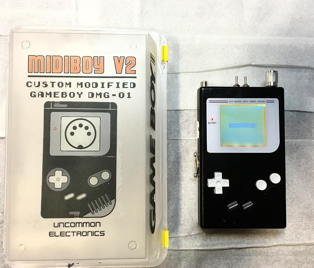 MIDIBoy V2 - Custom Modified Gameboy DMG-01 w/ Full MIDI