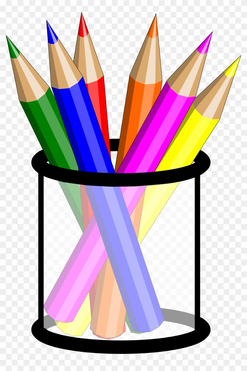 Pencils In A Cup Clipart Colored Pencils Clipart Png 157006 Pencil Clipart Clip Art Colored Pencils