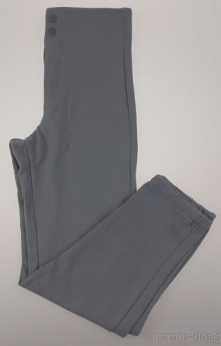 NEW Russell Athletic Mens Baseball Softball Pants Gray Small Snap Zipper Made US