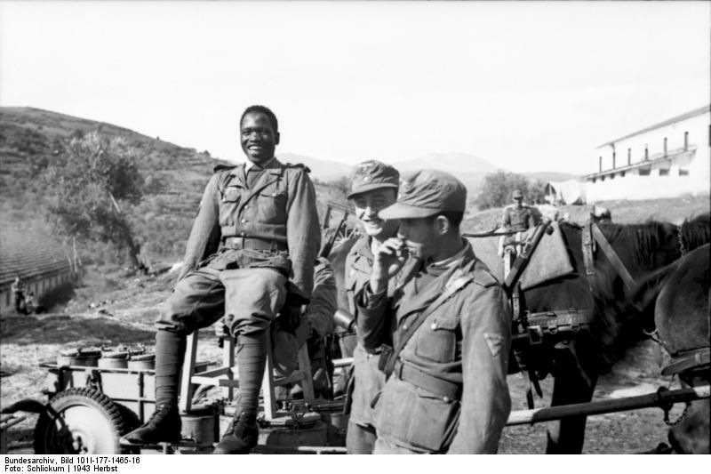 Greece 1943, members of the Free Arabian Legion. Courtesy of the Bundesarchiv.