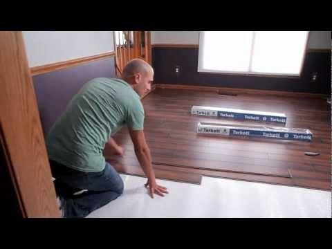 Tarkett Laminate Flooring Installation Youtube For The Home