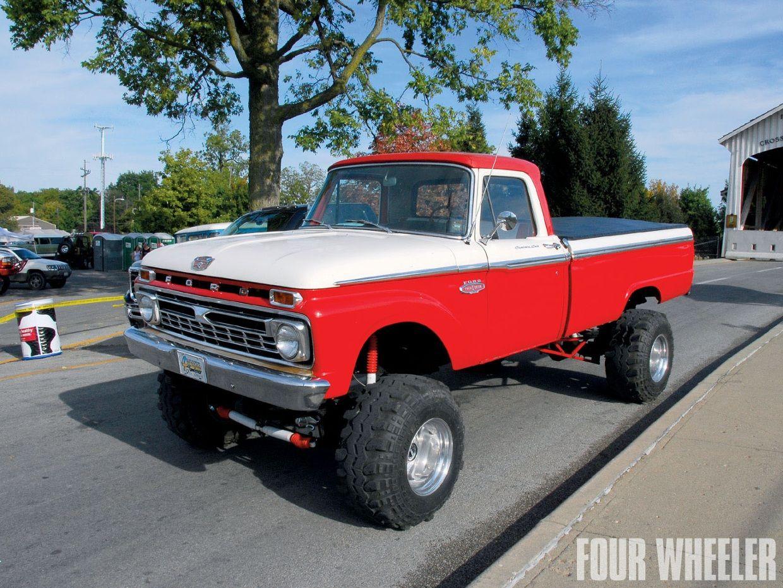 chrome red white wheel 1964 f100 4x4 thinglink [ 1240 x 930 Pixel ]